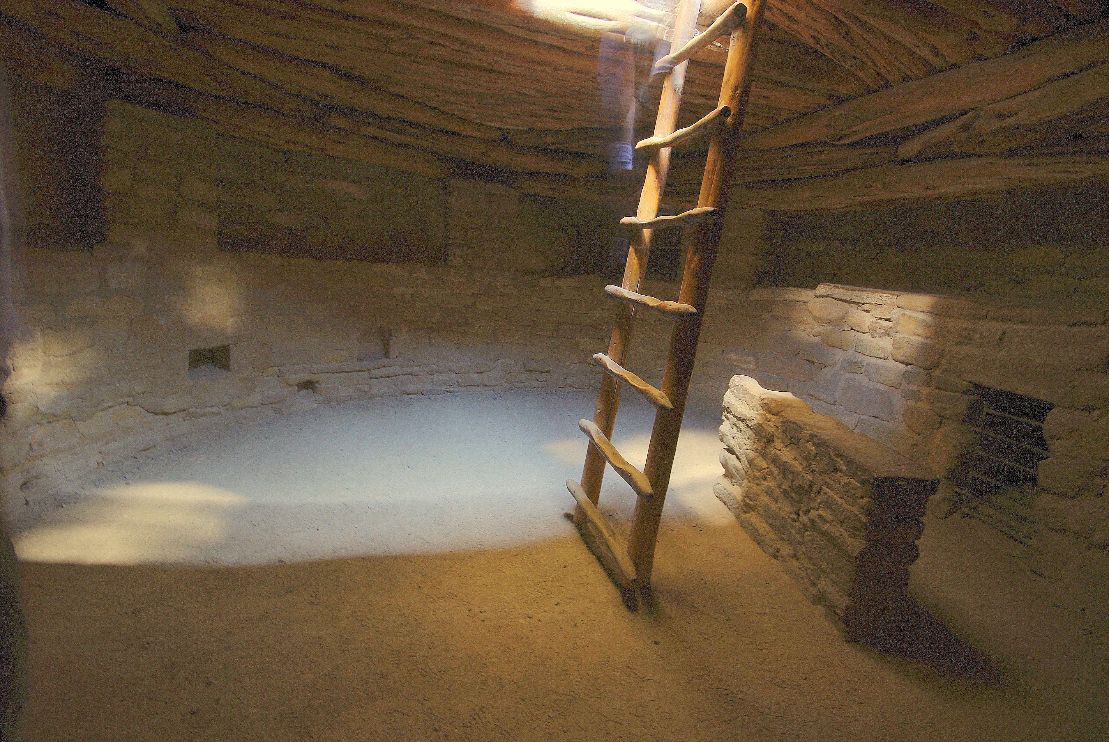 Kiva ancestral pueblo ceremonial structures for Kiva house