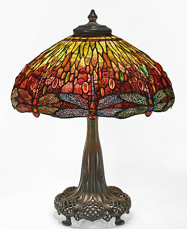 Tiffany Dragonfly Lamp Sold at Sotheby's for $2.11 million.