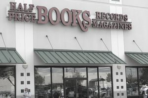 A Half Price Books storefront
