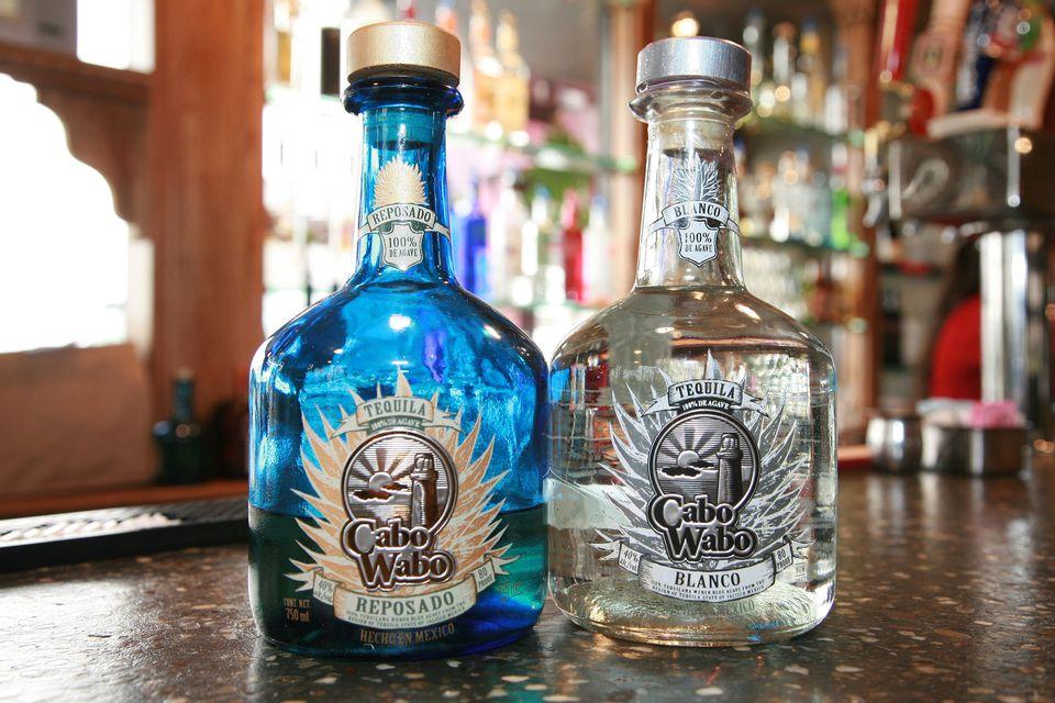 Cabo Wabo Blanco and Reposado Tequilas
