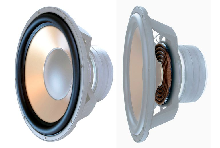 Example of Typical Loudspeaker Driver Construction