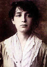Retrato de Camille Claudel