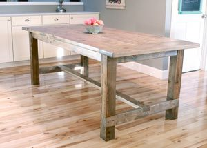 Ana Whites Free Farmhouse Table Plan