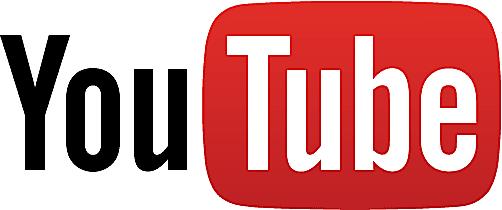 Screenshot of the YouTube logo