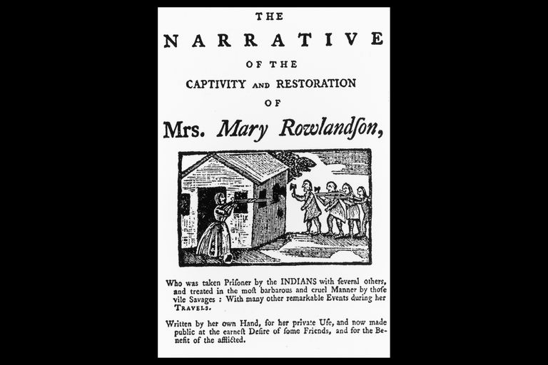 mary white rowlandson