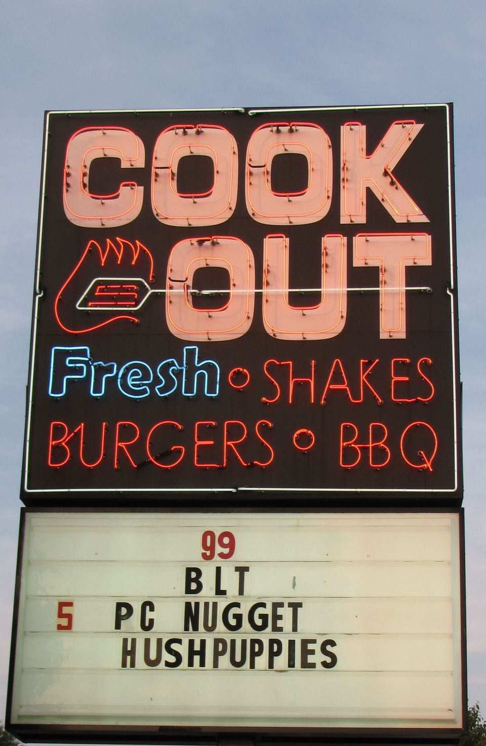 Cook Out, North Carolina
