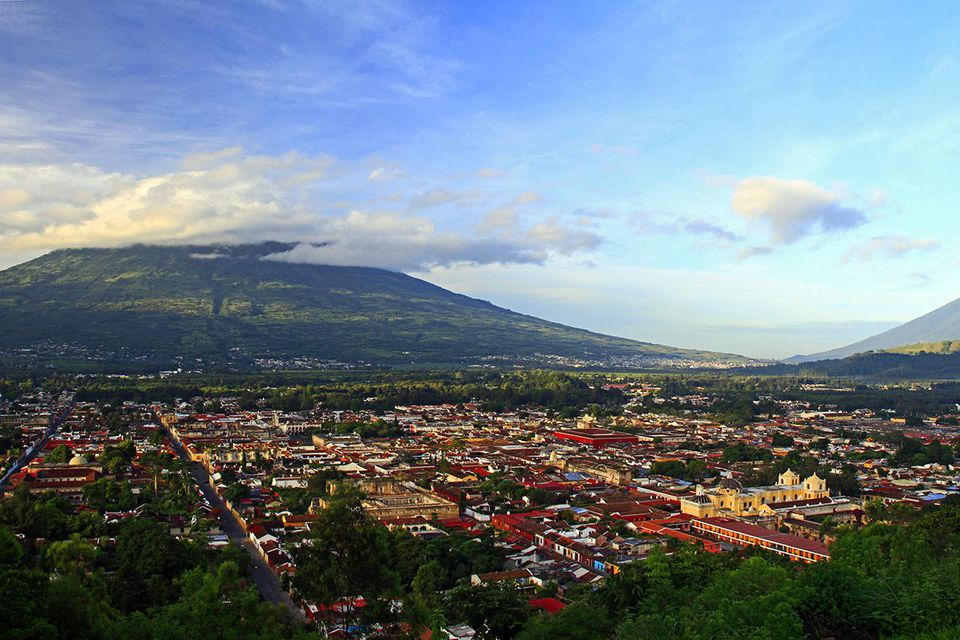 Panoramic of Antigua Guatemala