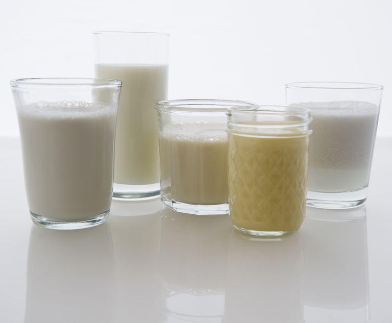 variety of milks