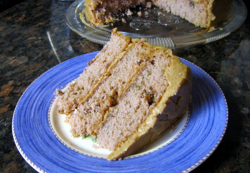 Kentucky Jam Cake with Caramel Frosting