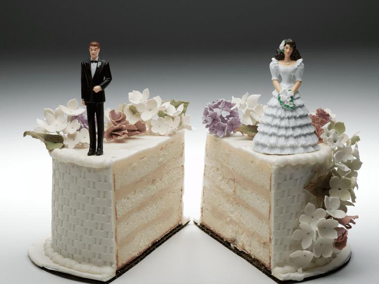 Divorce, cake