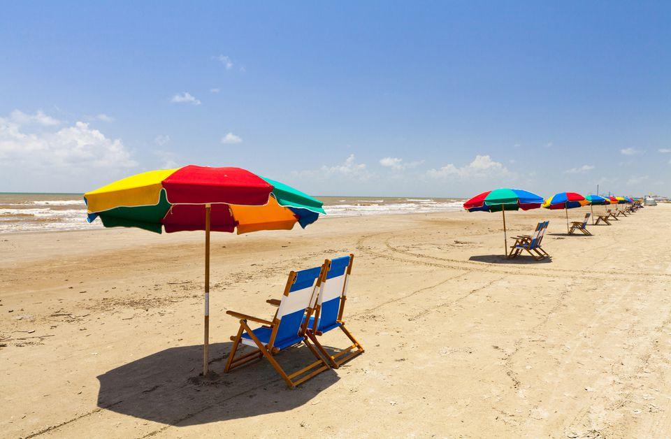 Stewart Beach, Galveston, Texas, United States of America, North America