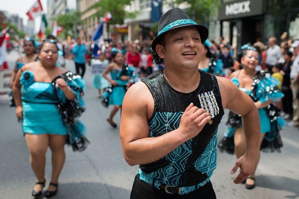 The Montreal Canada Day Parade runs July 1, 2017.