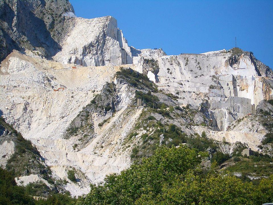 Carrarra Marble Quarry