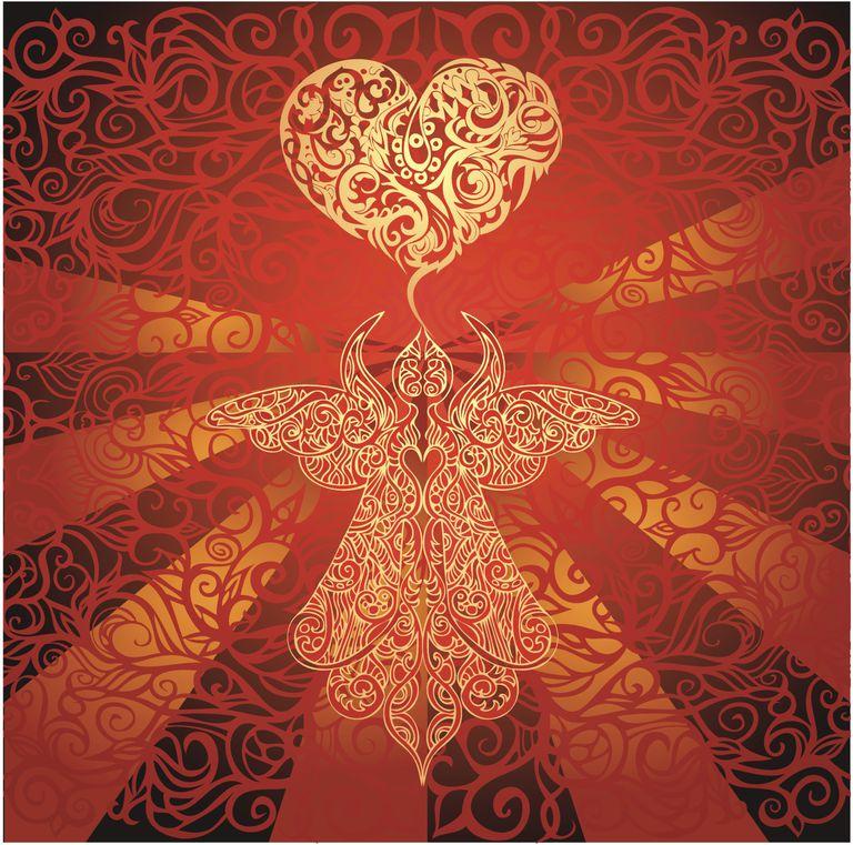 Chamuel archangel loving angel heart