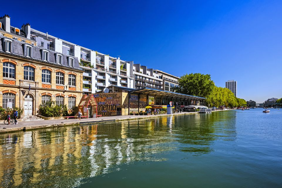 'Bassin de la Villette' in Paris