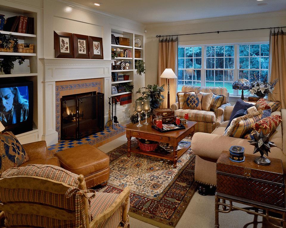 21 cozy living room design ideas for Cozy family room