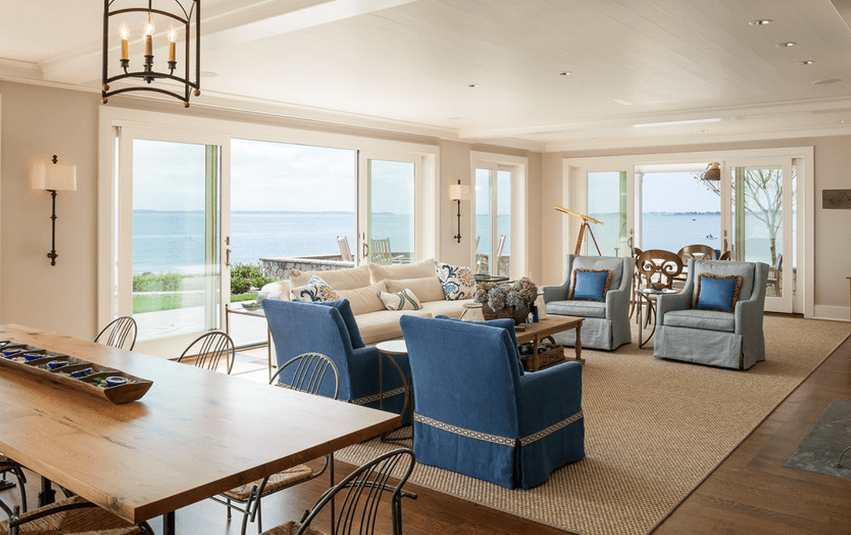 white beach house interiors.  20 Beautiful Beach House Living Room Ideas