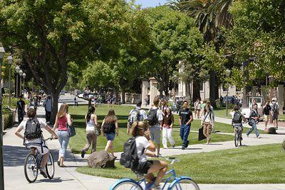 Santa Clara University Mall