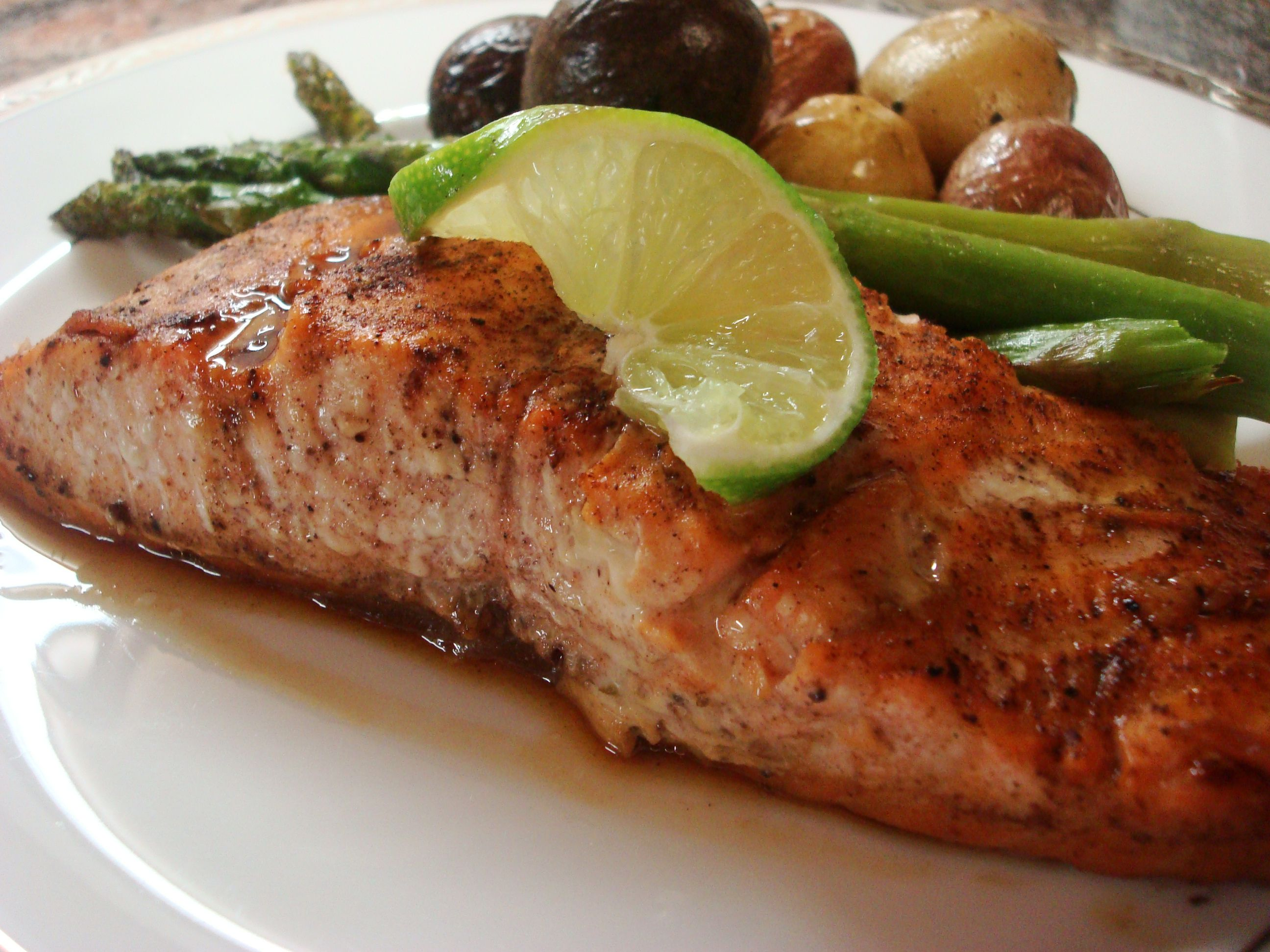 Indian Spiced Salmon With Garam Masala Recipe