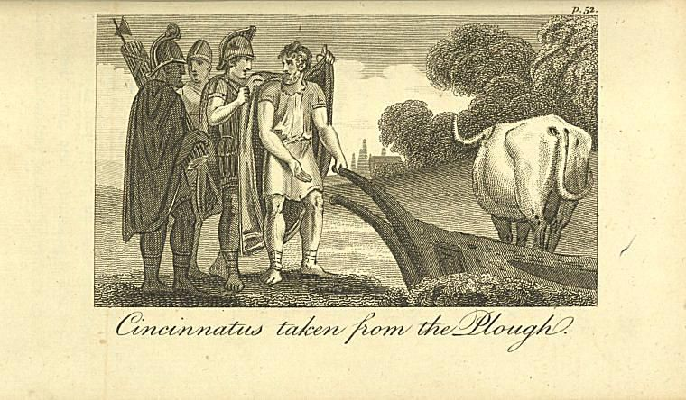 Image ID: 1806563 Cincinnatus taken from the plough. (1809)