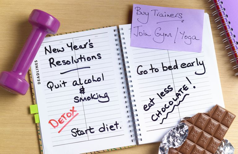 Healthy new year's resolution