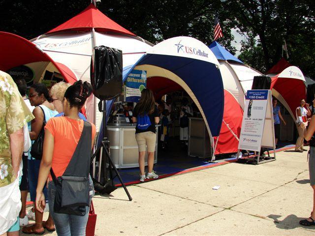 taste of chicago even sponsor booths