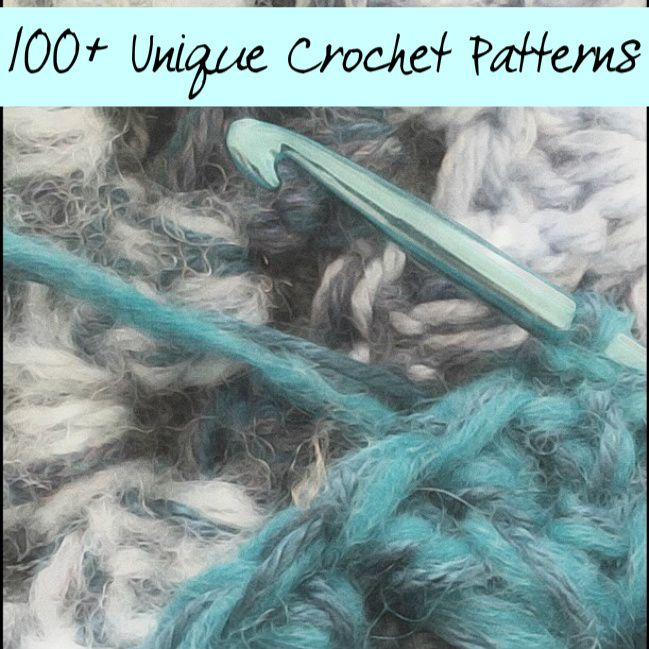 100+ Unique Crochet Patterns