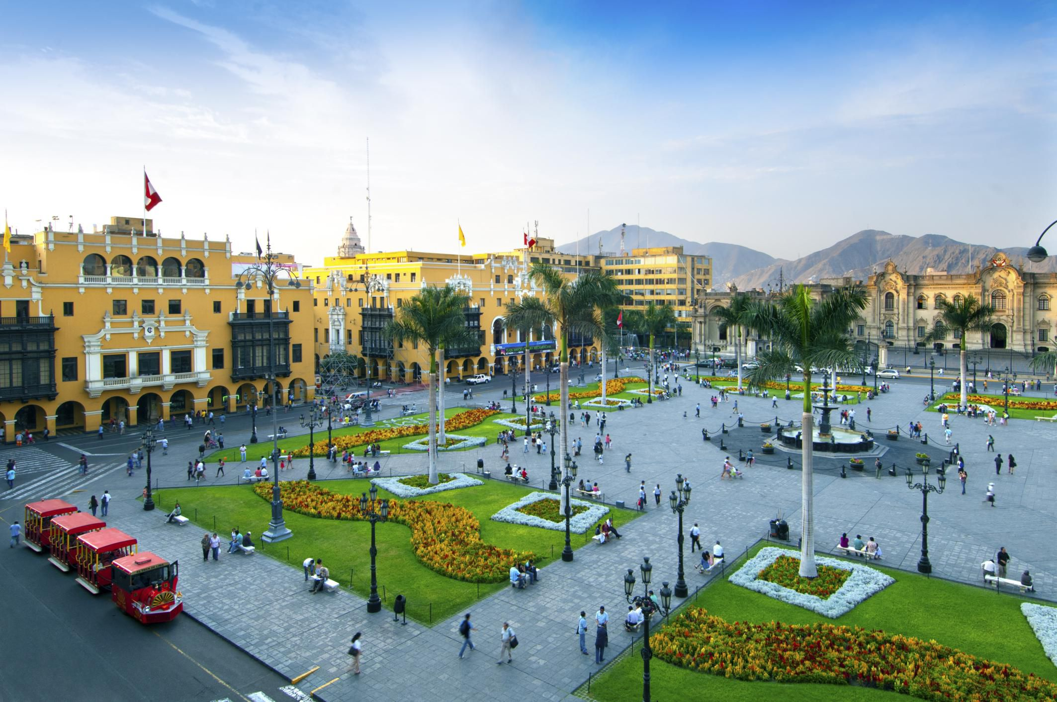 Traveling to Lima, the Capital of Peru