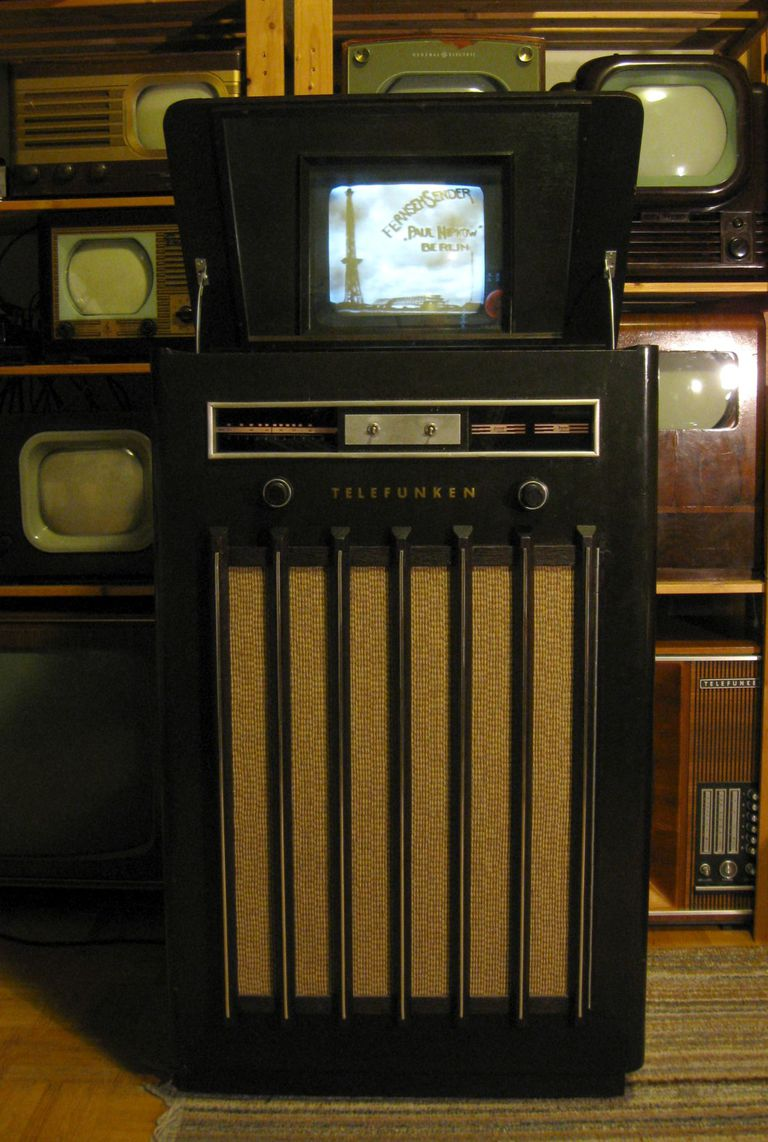 An early television