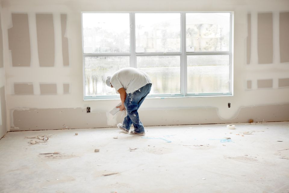 Installing Drywall In a Room