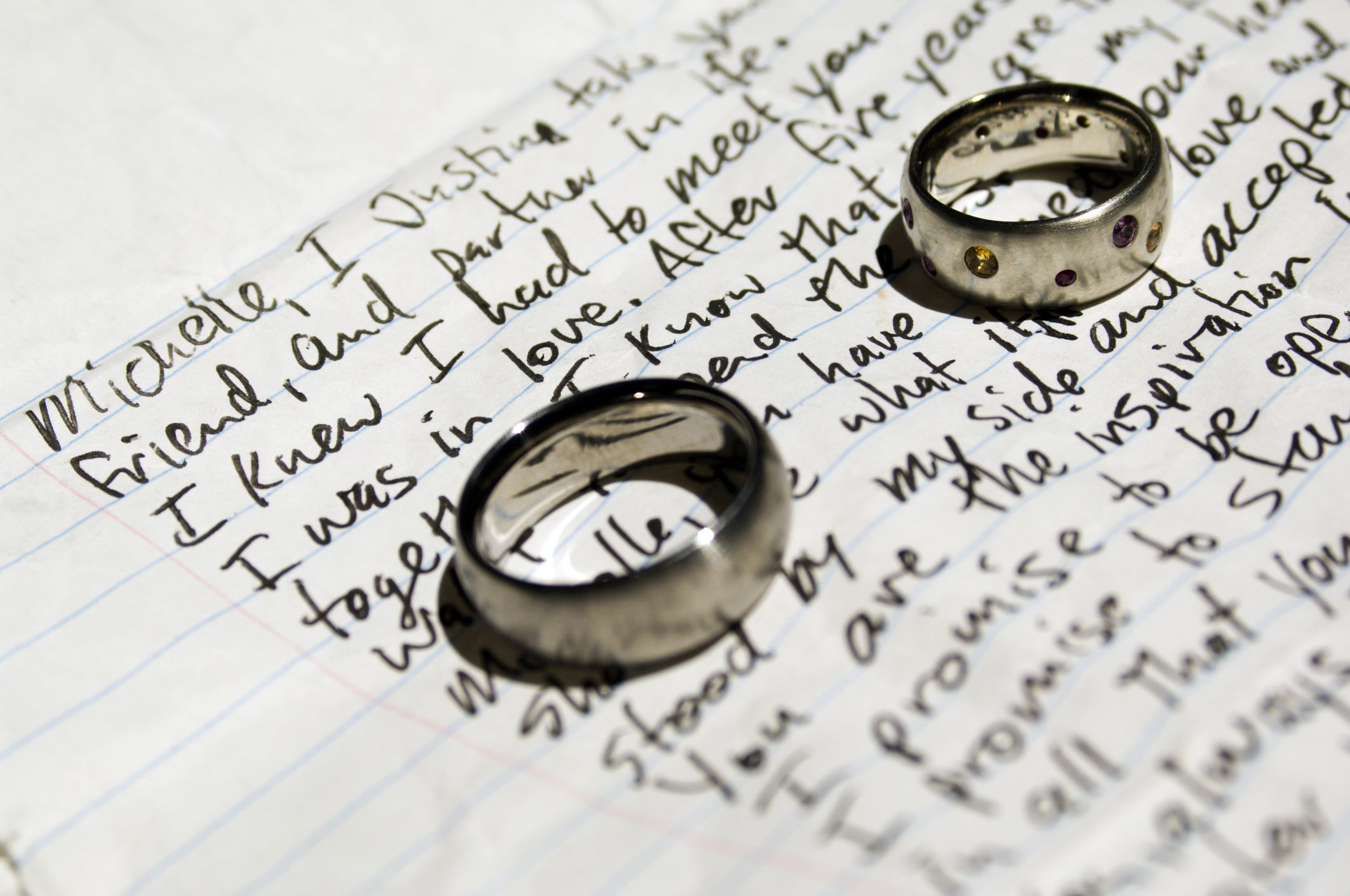 How to write wedding vows and samples 6 steps to your perfect personalized wedding vows junglespirit Choice Image
