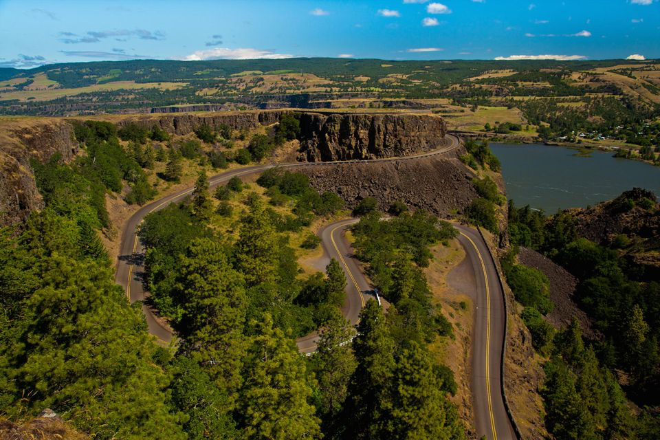 Loops in the Old Columbia Gorge Highway