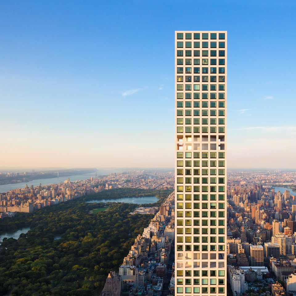 NYC's matchstick building, 432 Park Avenue