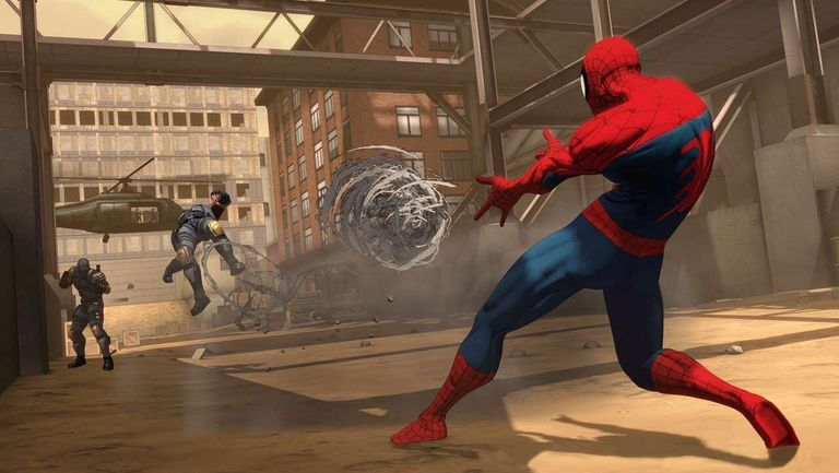 spider man shattered dimensions game