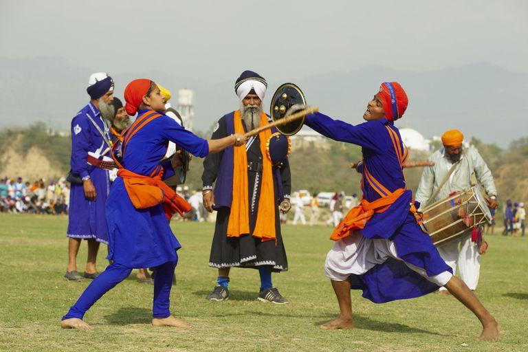 India, Anandpur Sahib, Hola Mohalla festival