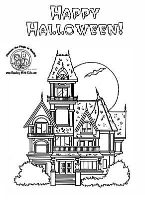 halloween coloring pages - Halloween Coloring Pages Kids