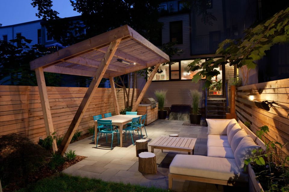15 shade ideas for your outdoor space for Small patio shade ideas