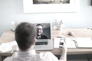 Online Tutor Video Call Telecommute