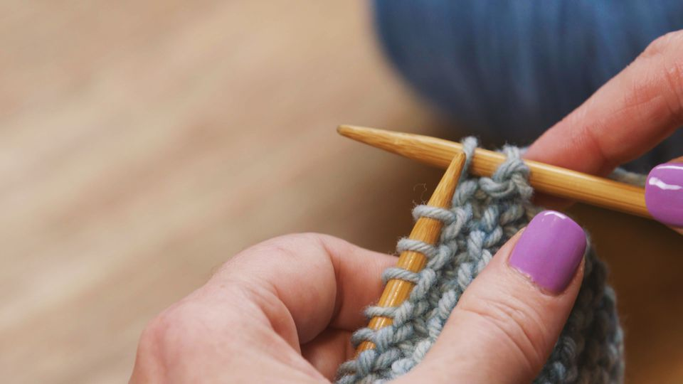 how to bind-off in knitting