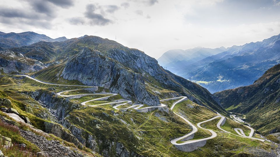 Switzerland, Tessin, Valle Laventina, Gotthard Pass