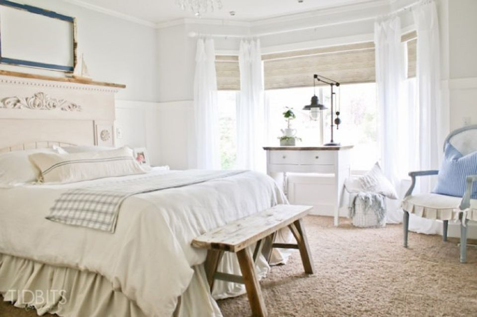 Pretty farmhouse bedroomFarmhouse Style Bedroom Ideas. Farmhouse Bedroom. Home Design Ideas