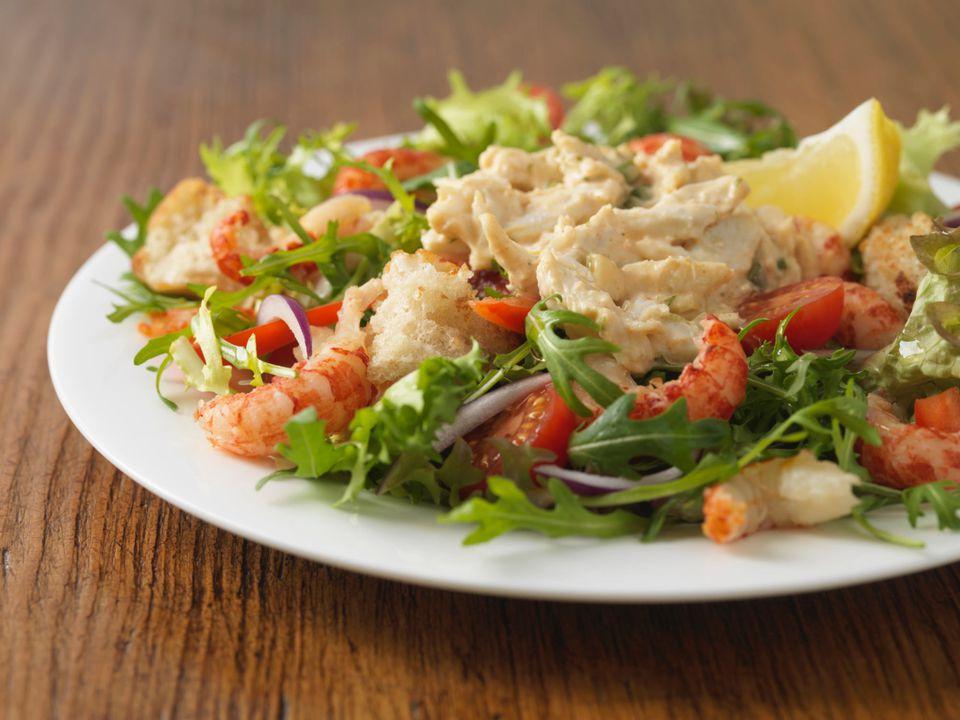 Crab and Crawfish Salad