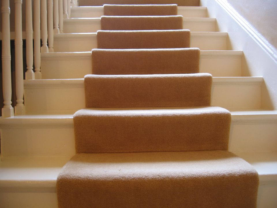 Image of stairs with warm tones