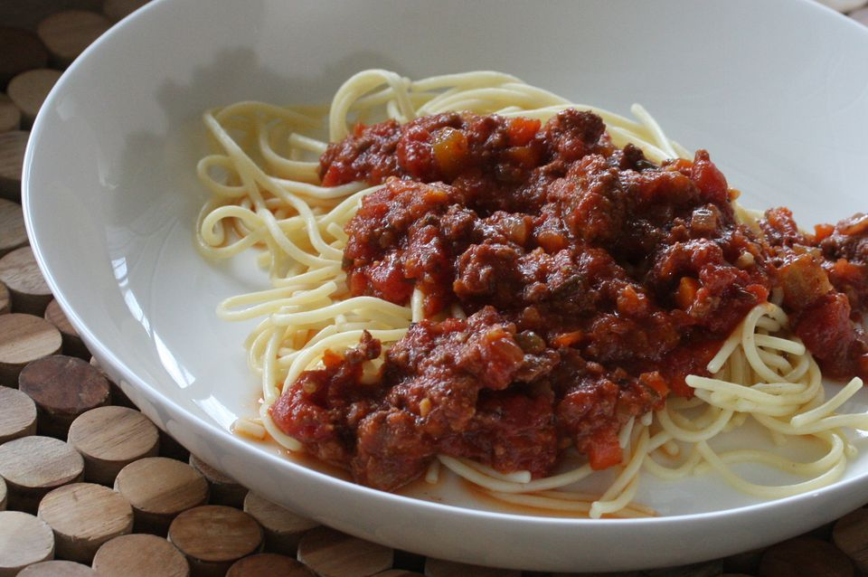Southern Meat Sauce for Pasta
