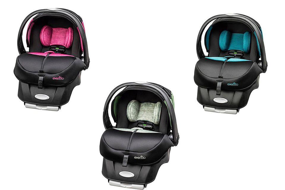 Evenflo Advance Sensorsafe Embrace DLX Infant Car Seat