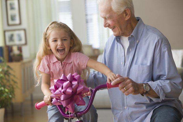 grandchild gifts and spoiling the grandchildren
