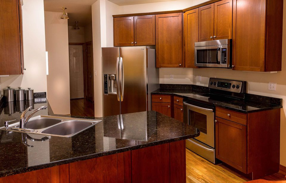 granite counter kitchen quartz countertops vs concrete radon inc