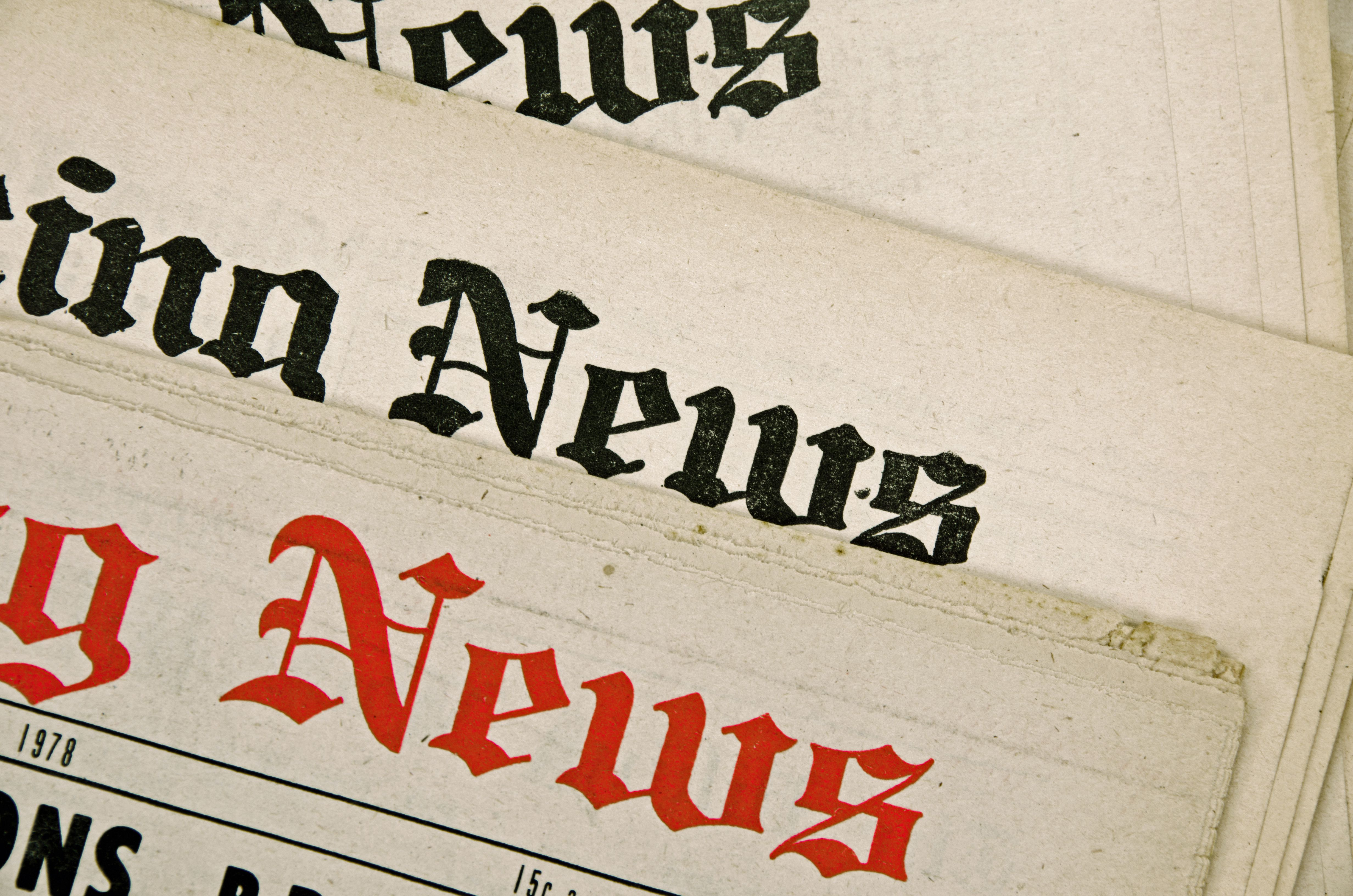 newspaper terminology masthead Reader many reporters and editors are employed in newspapers to prepare  in  terms of the number of readers, but also in the increasing number of consumer.