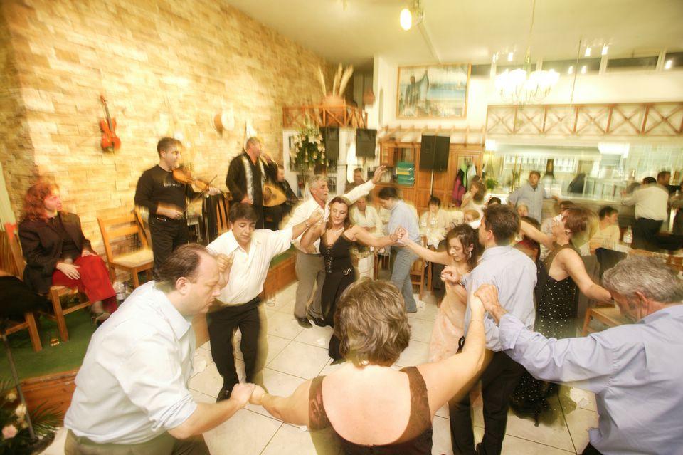 Dance Floor at Greek Wedding Reception