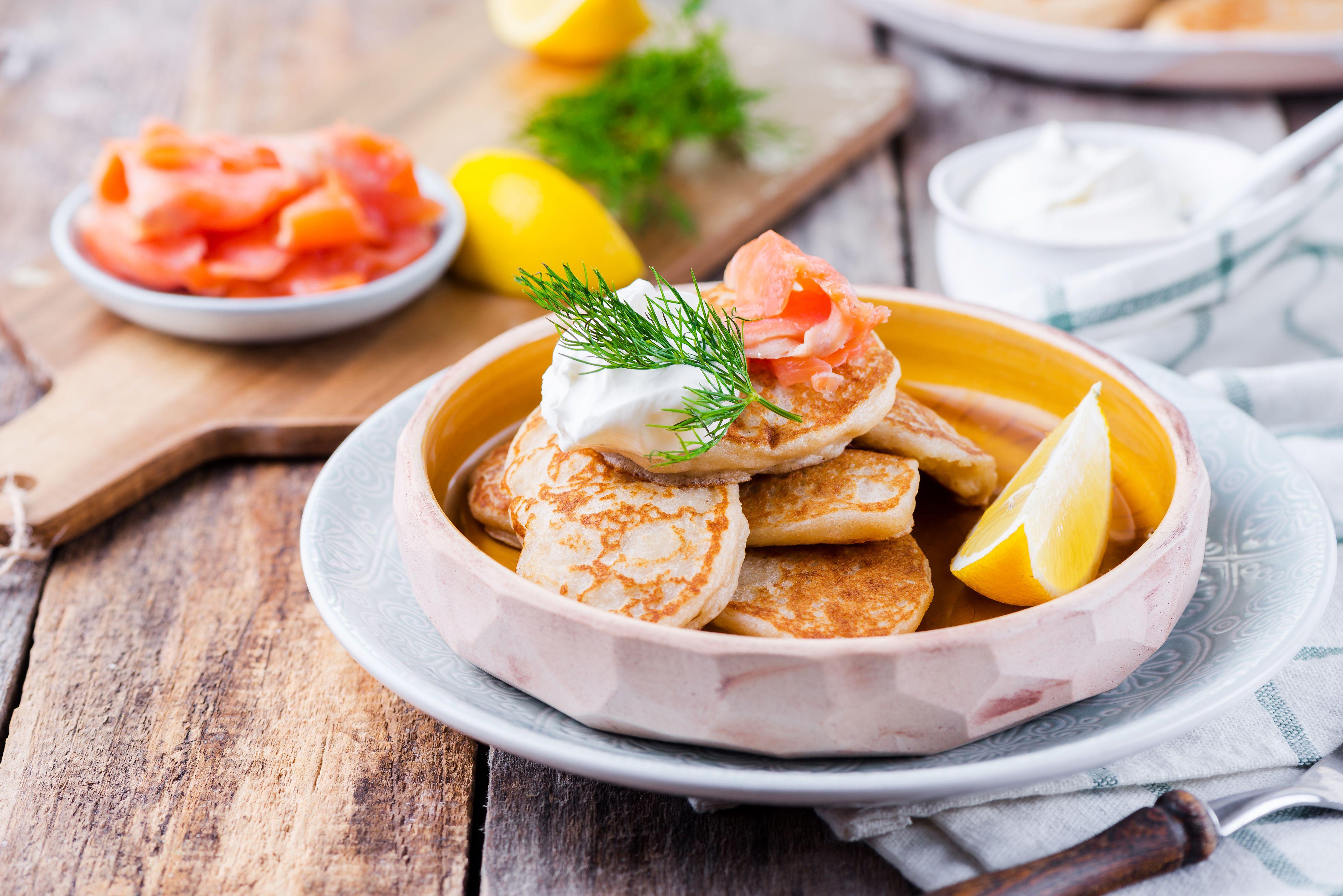 Russian Blini Buckwheat Pancakes Recipe
